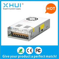 CE approval 5v power supply S-350-5 60A