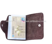 leather name and key card holder