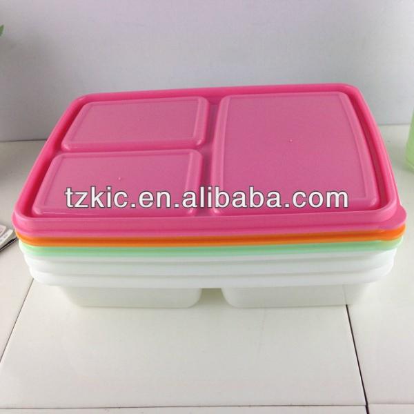 contenitori per alimenti da asporto contenitore di 3 vano pranzo al sacco freezer microonde