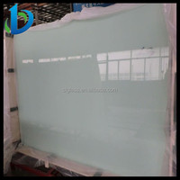 Top quality milk white laminated glass on sale