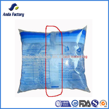 PE material pure water bags, plastic bag water for filling