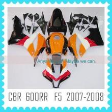 For HONDA CBR 600RR F5 2007 2008 Fairing kit quality factory body work