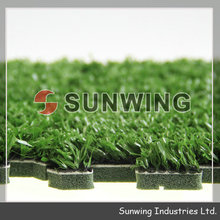 Interlocking grass surfaces for sports