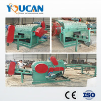 Youcan factory price pallet crusher/wood pallet crushing machine/wood board shredder