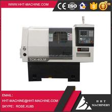 HHT Brand conventional CNC horizontal new Lathe Machine TCK40LM