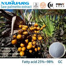 Kosher/ Halal/ ISO 9001 Quality Guarantee Pure Saw Palmetto Extract Fatty Acids 25-90%