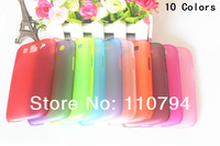 High quality Clear 0.5mm Ultra Thin Matte Slim Crystal Hard Back Case Transparent Cover for Samsung Galaxy S3 i9300