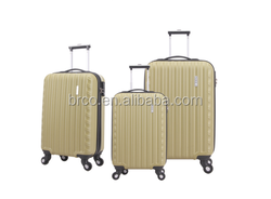 newest hot sale luggage set abs trolley durable luggag business suitcase airport luggage