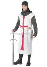mens medieval templar knight roman soldier warrior costumes QAMC-2281