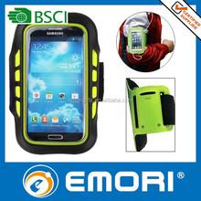 Custom made telecom gift adjustable nylon armband case