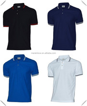 China manufacturer Mens Fashion Stylish Work Tipped Pique cotton Short Sleeve Casual Polo T Shirt XS - 3XL