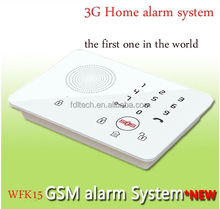FDL-WFK15 433mhz Android Smart home GSM 3G alarm system, alarm system 3g and wifi ,3G network home security