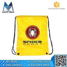 Wholesale Cheap Custom Polyester Mesh Cosmetic Nylon Drawstring Bag