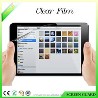 Ultra clear screen protector/guard/film for Ipad mini 2 3 4 factory prices free samples