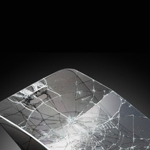 Anti-drop mobile phone screen guard for iphone 5 glass protector, factory price with MOQ 50pcs