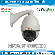 Analog HD AHD high speed Dome 360 degree auto rotating cctv ptz Camera