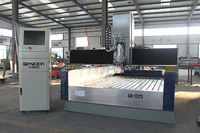 Newest design Gangercnc cnc machine for stone1325 SH-1325S ATC for stone,wood with dust cover