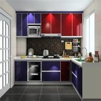 Best Sense India high gloss lacquer kitchen design
