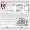 Decoration backyard wrought iron gate and door wholesale
