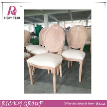 Rattan Back Old Style Rubber Wood Chair RQ20391G