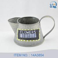 Antique Metal Flower Jug For Garden Decoration