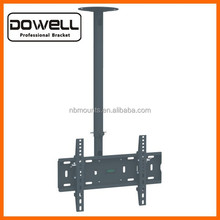 15 Degree Tilt Down and 360 Degree Rotation Ceiling TV Mount Bracket for Most 32-55 Inch Screens