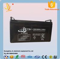 High quality sealed lead acid battery 12v 120ah solar battery with CE/ISO Certification and Maintence Free