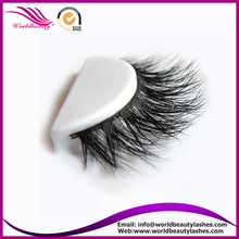 Hot sale private laberl service real siberian mink fur 3D lashes 3D008