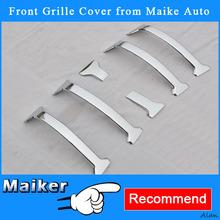 6PCS Grille Trims For Toyota Prado 2010+ Grille Trim Car Accessories 2014 Auto Parts Maiker