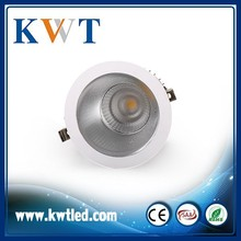 High Quality CE ROHS COB warm white 10 inch led downlight