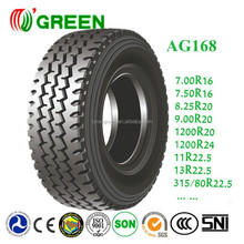 Commercial truck tire prices 7.00r16 bias light truck tires