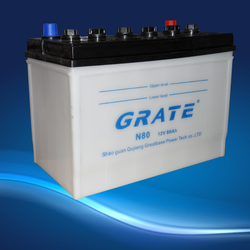 car battery sale 12V75AH n70z dry charged car automotive automobile battery manufactuer