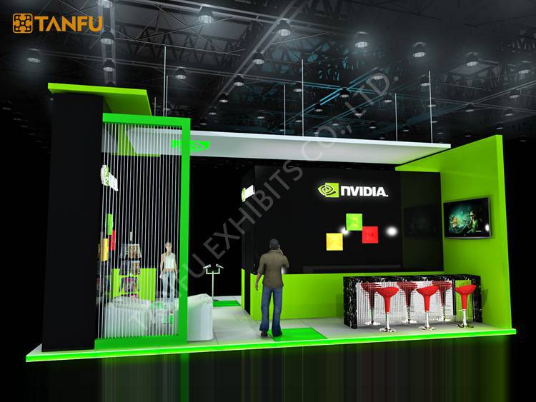 Portable Exhibition Games : Ftx ft trade show booth exhibit display with led light