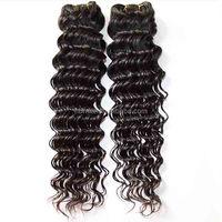High quality 7a real mink virgin brazilian hair wholesale 100% brazilian remy hair