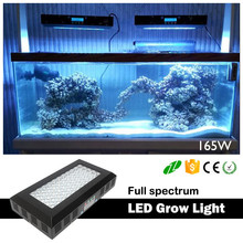 LED aquarium lighting simulate sunset, sunrise and moonlight for fish, coral reef marine products