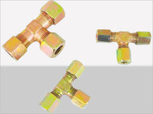 Hydraulic carbon steel fittings/hydraulic connectors/Nylon tube fittings