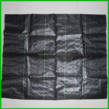 black or green Weed Control Mats UV Stabilized