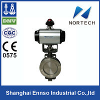 2013 High Quality DN50-DN1200 pneumatic operated butterfly valve