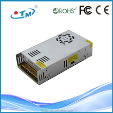 Shenzhen supply 360w power supply 12v 30a ip20 led driver ac to dc hdmi to usb 2.0 converter
