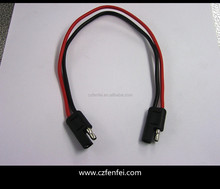 PARALLEL OUTPUT CABLE 2pcs BARE WIRE END RED AND BLACK