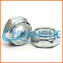 china supplier nylon insert lock nut white