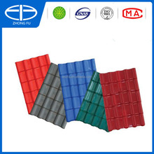 Corrugated plastic roofing sheets/Synthetic resin roof tile