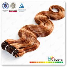 2014 wholesale 6a grade brazilian hair weave color 33