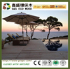 Good quality !crack-resistant decking/ wood plastic composite deck board ,outdoor garden,swimming pool,,square