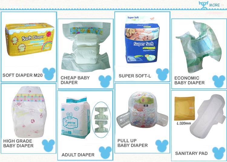 OEM Soft Disposable Sleepy Baby Diaper