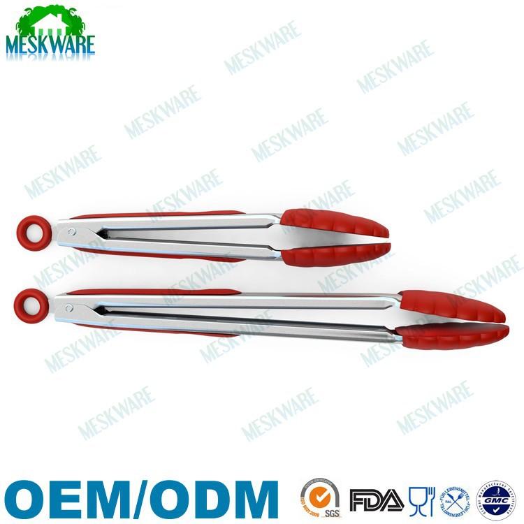 Pinzas de cocina y conjunto de acero inoxidable de 2 for Empresas de utensilios de cocina