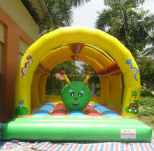 inflatable insect bouncer caterpillar trampoline for kid customized available