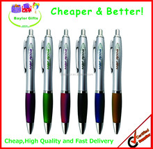 Promotional give away plastic pen, cheap logo printed personalized pen