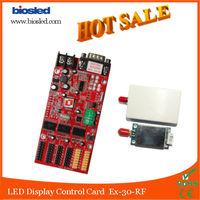RF Remote Programmable Digital LED Display Controller