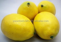 mini artificial fake decorative plastic lemons fruit and lemons